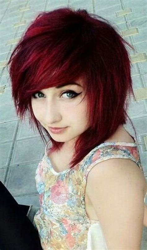 emo hairstyles for short hair ibuzzle latest ideas of cute colorful dye emo hairstyles for