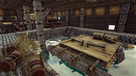 how to make a boat ark ark how to build a boathouse base no mods base design