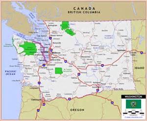 road map of washington and oregon tacoma wa nwgreengirl