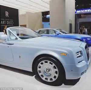 Baby Blue Rolls Royce by Disick Takes 492k Baby Blue Rolls Royce Phantom