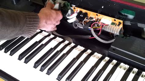 digital repair fixing the on a digital piano where some or all
