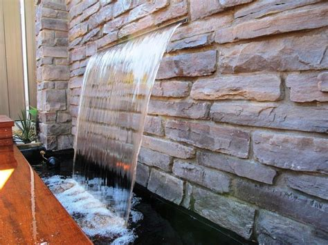 architecture amazing water wall decoration water feature