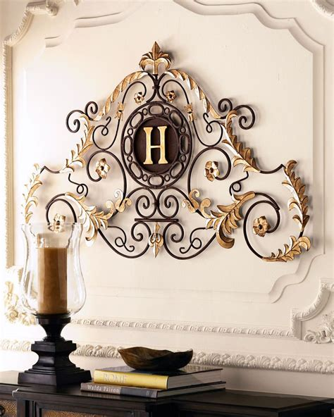 horchow monogrammed quot palace quot grill home decor outdoor