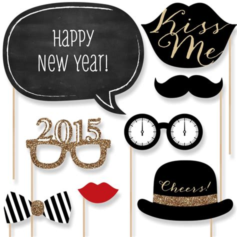 new year photo booth props 2015 new years photo booth props free printable new