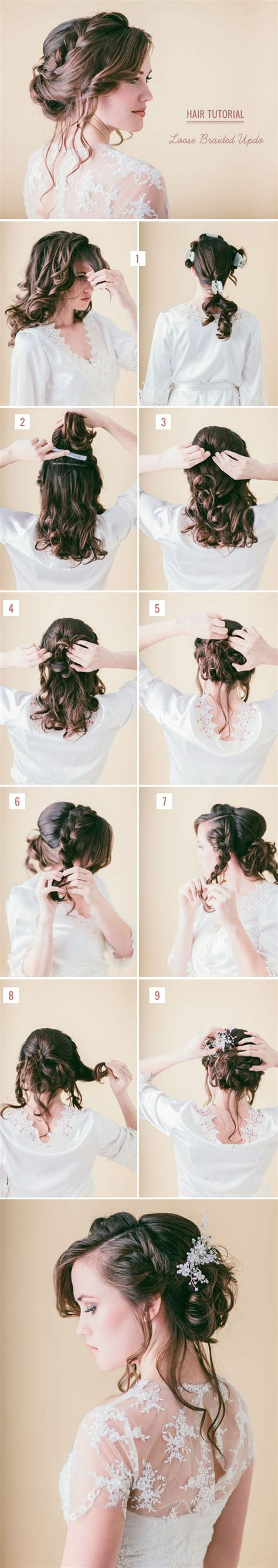 Buzzfeed Diy Wedding Hairstyles by 10 Best Diy Wedding Hairstyles With Tutorials Tulle