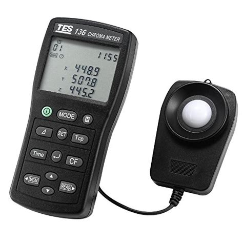 light color temperature meter tes 1160 thermo hygro barometer humidity temperature meter