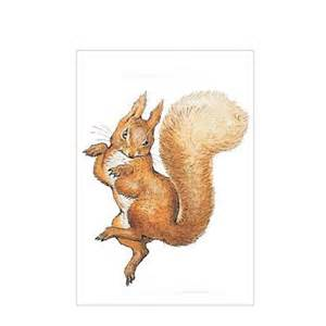 Comforters On Sale Beatrix Potter Mini Card Squirrel Nutkin By Beatrix