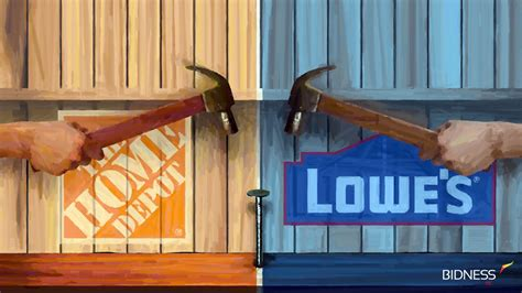 Lowes And Home Depot by Home Depot Vs Lowes Home To Home Diy Home To Home Diy