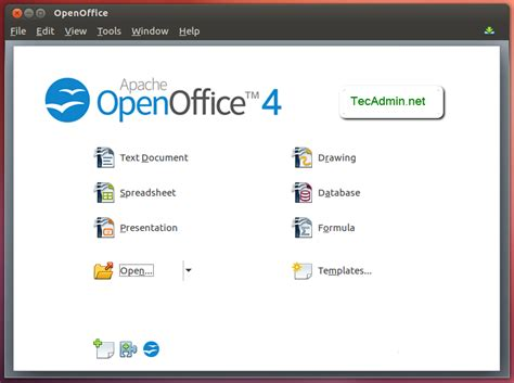 how to install openoffice on ubuntu how to install apache openoffice 4 1 on ubuntu debian