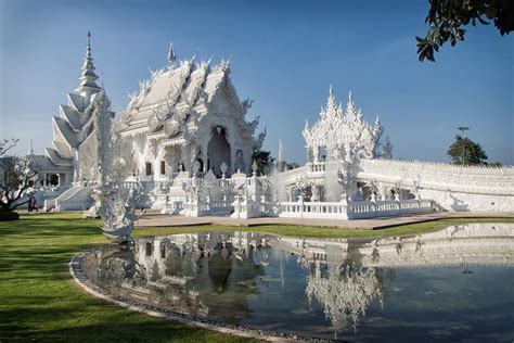 Affordable Home Construction by Wat Rong Khun The White Temple Of Thailand Travmate
