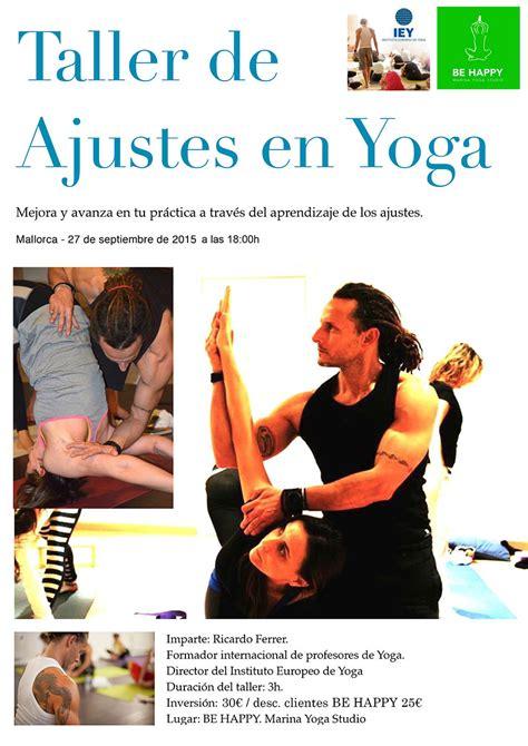 ajustes de yoga 8416579210 taller de ajustes en yoga yoga mallorca