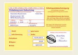 Kostenlose Vorlage Ebay Einladungskarten Zum Geburtstag Witzig Originell Einladung Krankenschein Ebay