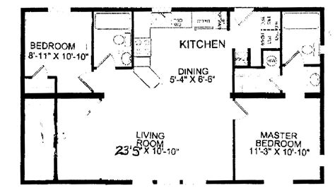 Jacobsen Manufactured Homes Floor Plans by 24 X 40 House Plans Numberedtype