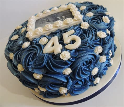 sapphire anniversary cake cakecentral