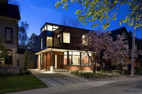 modern home design toronto building a contemporary home in a traditional