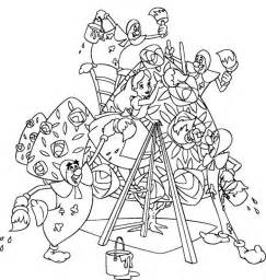 Alice In Wonderland Coloring Pages Tea Party  sketch template