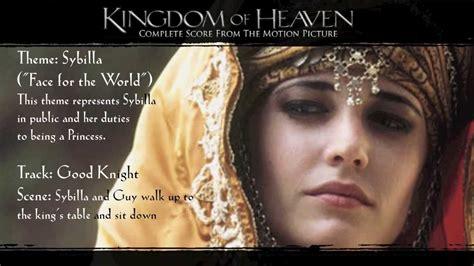 themes in kingdom of heaven kingdom of heaven soundtrack themes sybilla youtube