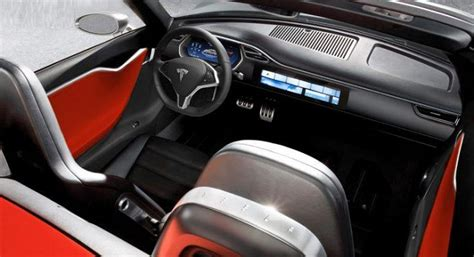 Tesla S Interior Images 2018 Tesla Roadster All Electric Convertible Drive