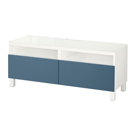 besta montageanleitung best 197 tv bench with drawers white valviken blue