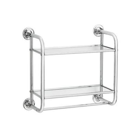bathroom rack target target chrome bath shelf polished bathroom pinterest