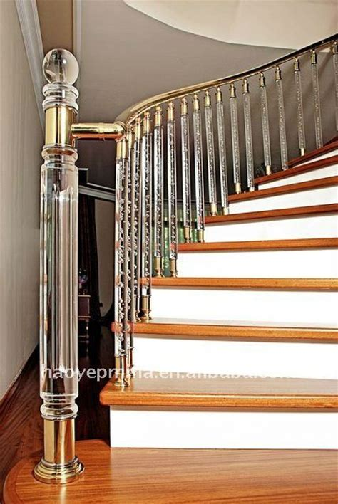 Perspex Balustrade 2012 New Acrylic Stair Railing With Led Light Buy