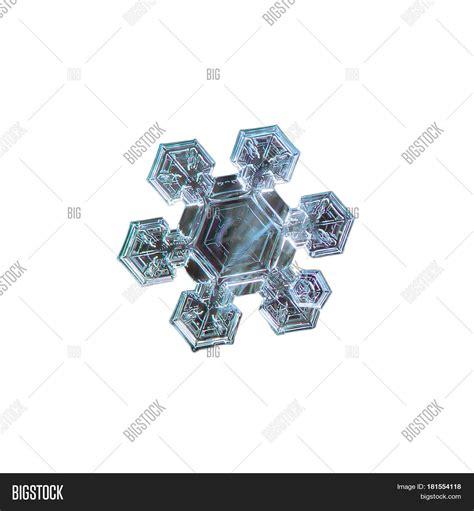 broad pattern en français macro photo of real snowflake medium size snow crystal