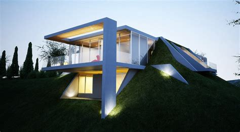 house project earth house project by molos group
