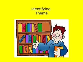 identifying theme in literature youtube themes in literature by kimberly dana teachers pay teachers