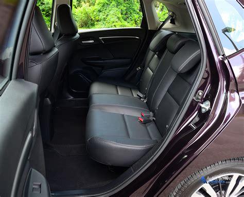 honda fit seat comfort 2015 honda fit rear seats