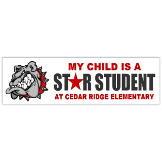 Star Student 101 School Bumper Stickers Templates Click On A Category Below To View Bumper Sticker Template For Students