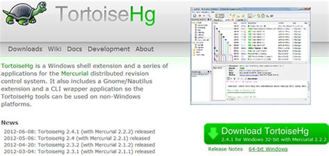 best mercurial client top 4 free version systems for 2012 boutros