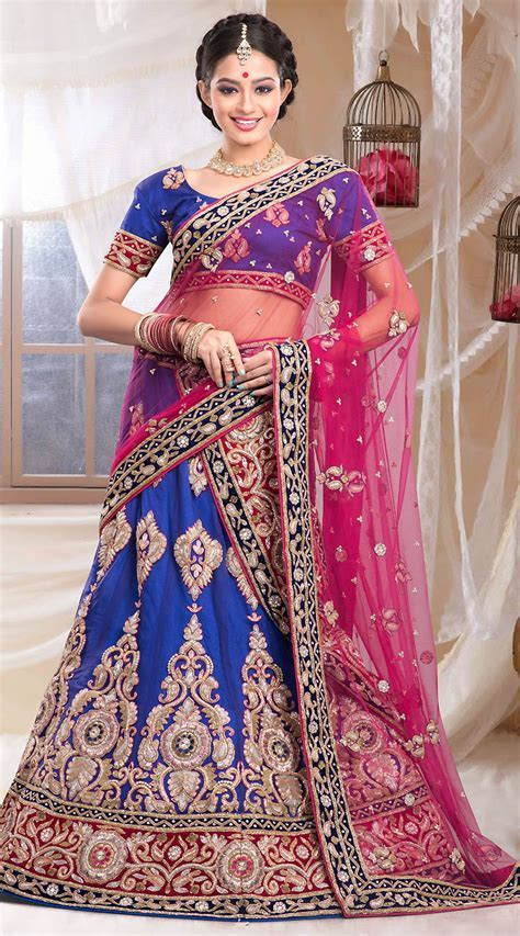 Trendy Net Wedding Lehenga ZP0805