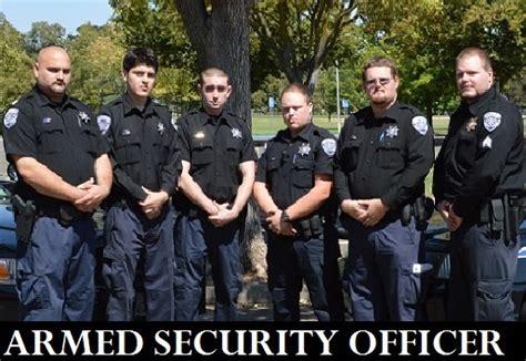 Armed Security Officer by Armed Security Officer California Patrol Operations
