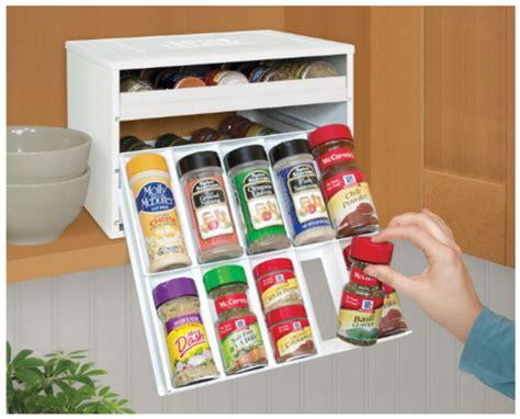 Spice Bottle Organizer Save 10 30 Bottle Spice Organizer On Sale