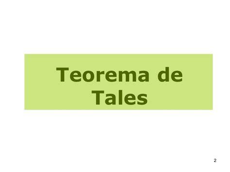 Mat Ti Teo by Mat Utfrs 17 Teorema De Tales