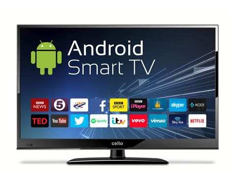 Tv Led Wifi 24 android smart led tv with wi fi and freeview t2 hd