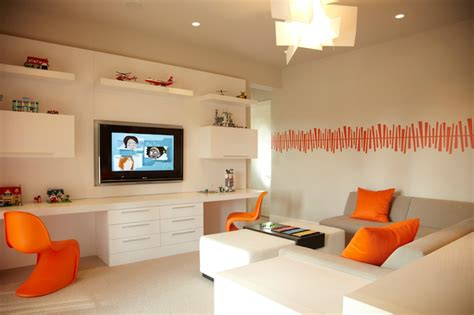 shared desk contemporary boy s room b and g design