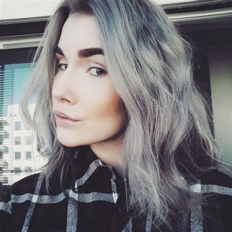 coloring hair gray trend name quot granny hair trend quot young women are dyeing their hair grey