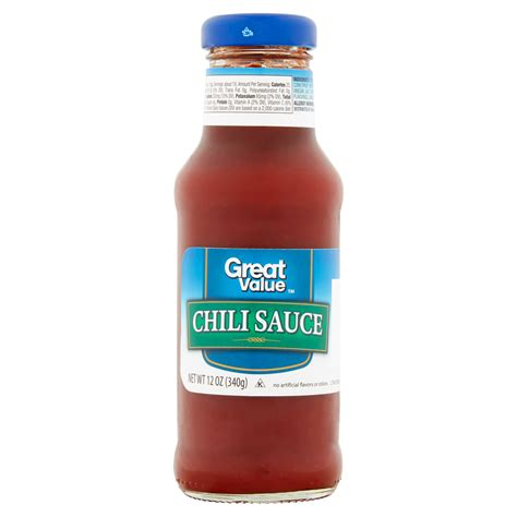 great value chili sauce 12 oz moms priority