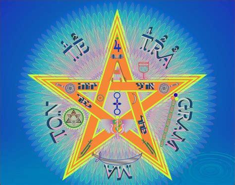 imagenes simbolos gnosticos pentagrama esoterico star pentagram estrella flamigera neon