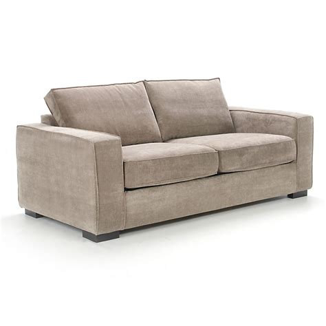 alinea canape california canap 233 convertible 2 places en tissu caf 233 california