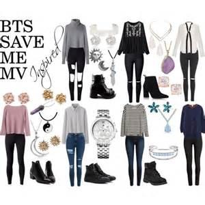 bts save me mv inspired polyvore