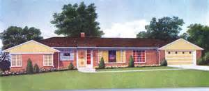 1950s brick ranch style homes 1950 ranch style home colors