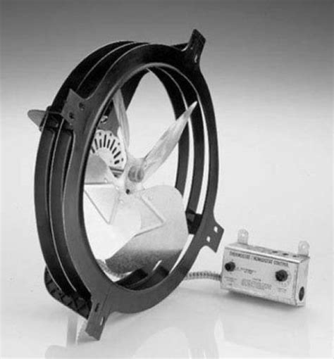 air vent 18 in dia electric gable vent fan air vent 53320 apgh gable mount power attic ventilator fan