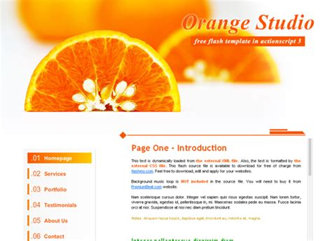 free flash website templates with source files 20 free flash templates with source file