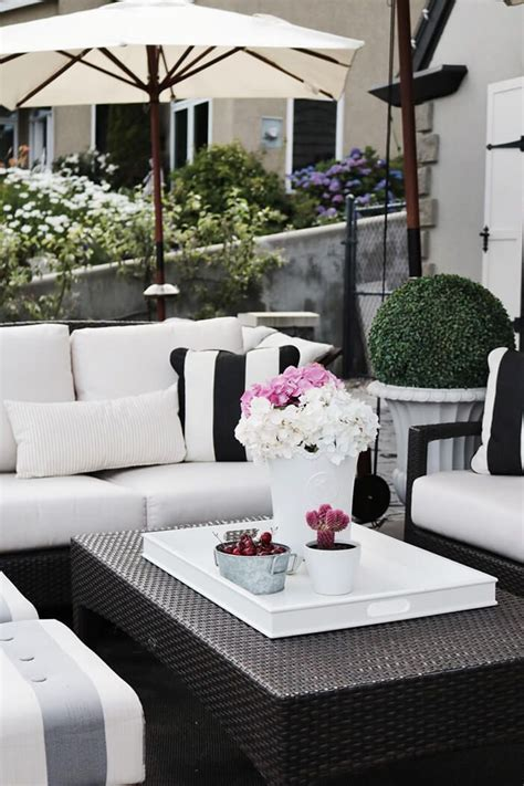 patio furniture decorating ideas top 25 best outdoor patio lighting ideas on pinterest