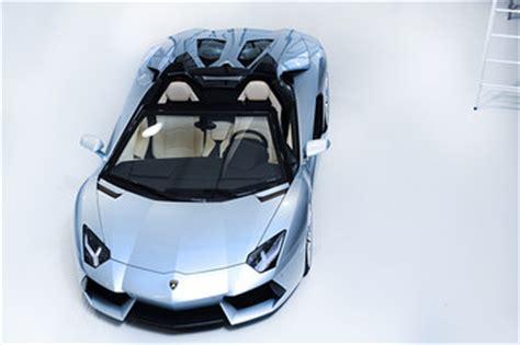 Lamborghini Gallardo 4 Seater Lamborghini Rolls Out Aventador Roadster Driver S Seat Wsj