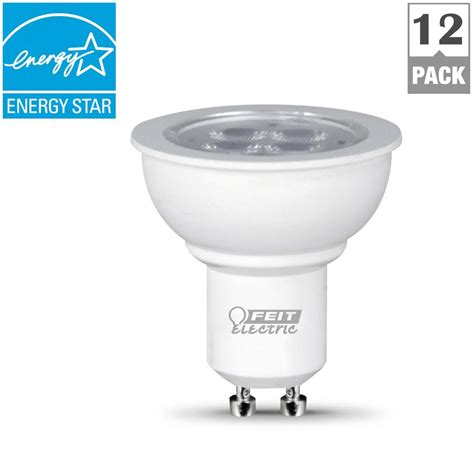 Gu10 Led Warm White Light Bulbs Feit Electric 35w Equivalent Warm White Mr16 Gu10 Dimmable Led Light Bulb Of 12 Bpmr16