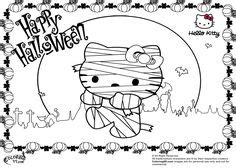 hello kitty witch coloring pages hello kitty happy halloween coloring pages free internet