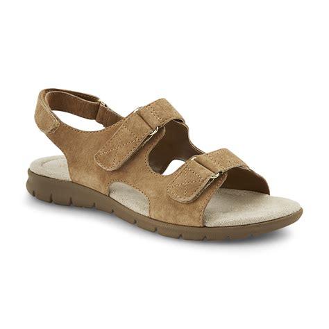 wide width sandals cobbie cuddlers s beatrice brown slingback sandal